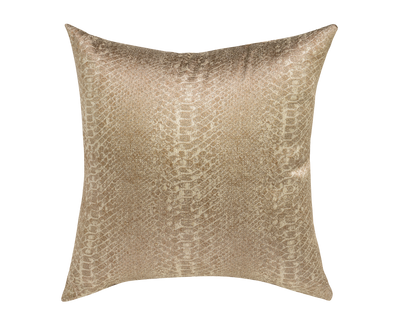 Desert Sand Art Deco Throw Pillow