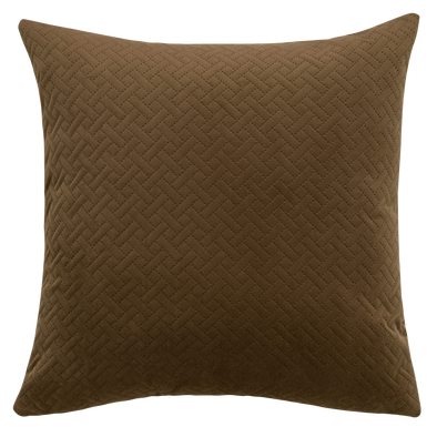 Cedar Basket Weave Throw Pillow