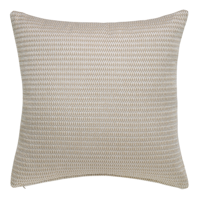 Truffle Contemporary Throw Pillow