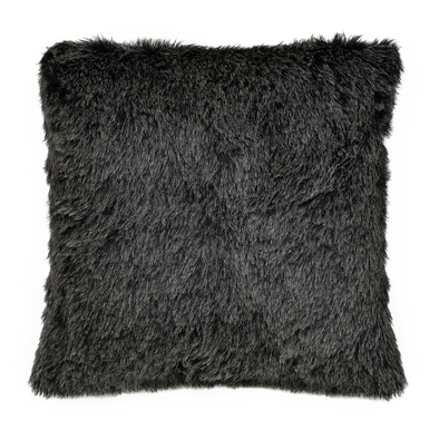 Alce Faux Fur Throw Pillow