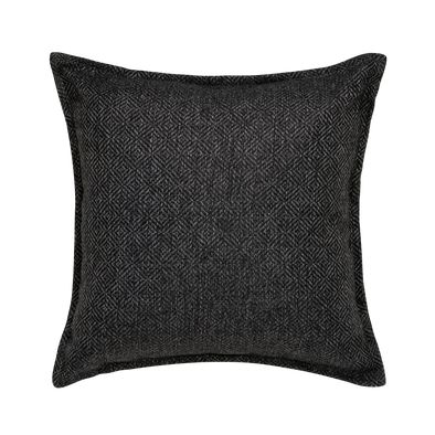 Ash Diamond Throw Pillow