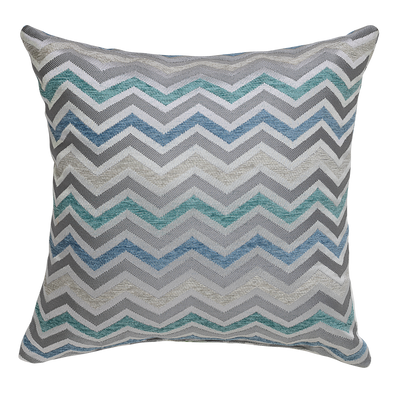 Element Wave Geometric Throw Pillow