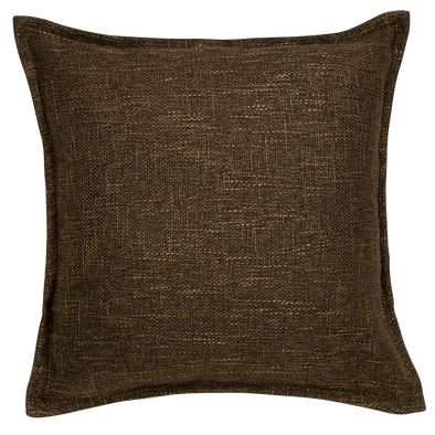 Hessian Creme French Rustic Throw Pillow