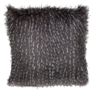 Ganso Faux Fur Throw Pillow