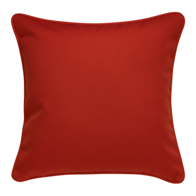 Orange Horizon Outdoor Patio Throw Pillow