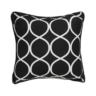 Ornate Geometric Throw Pillow