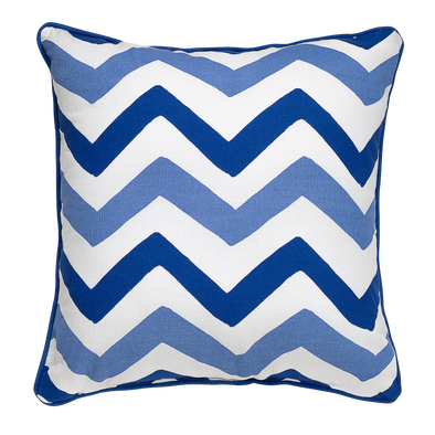 Pine Blue Throw Pillow