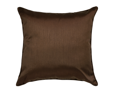 Café Faux Silk Throw Pillow