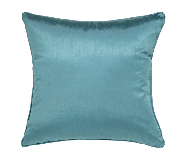 Midnight Faux Silk Throw Pillow
