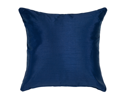 Ocean Faux Silk Throw Pillow