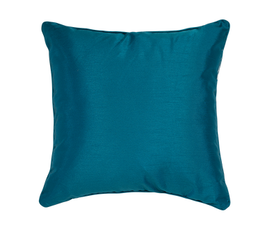 Tiffany Faux Silk Throw Pillow