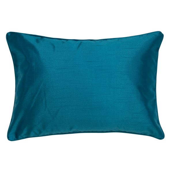Tiffany Faux Silk Breakfast Throw Pillow