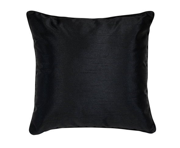 Tuxedo Faux Silk Throw Pillow