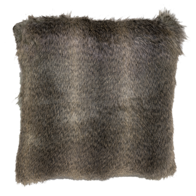 Reno Faux Fur Throw Pillow