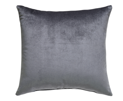 Ash Bohemian Velvet Throw Pillow