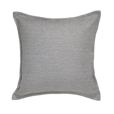 Snow Diamond Throw Pillow