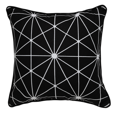Starlet Geometric Throw Pillow
