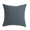 Steel Blue Solid Throw Pillow