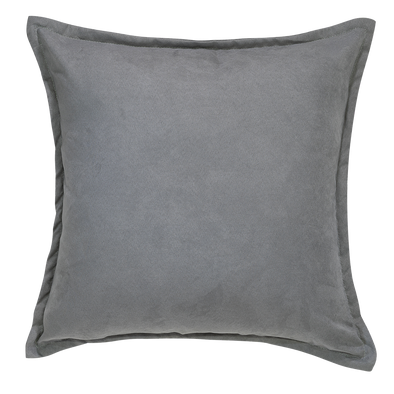 Island Fossil Suede Throw Pillow