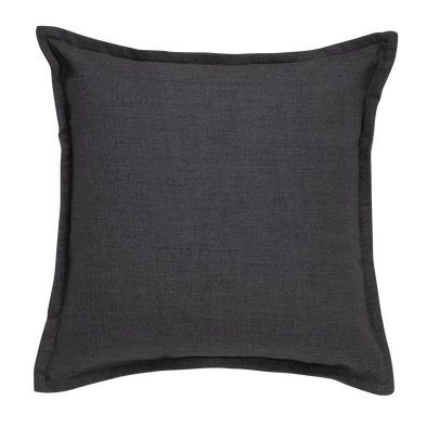 Flint Ink Tweed Throw Pillow