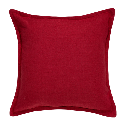 Summer Rose Tweed Throw Pillow