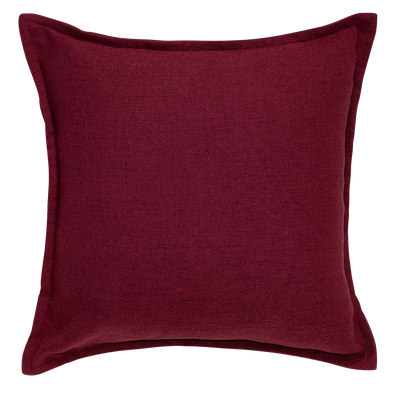 Winter Rose Tweed Throw Pillow
