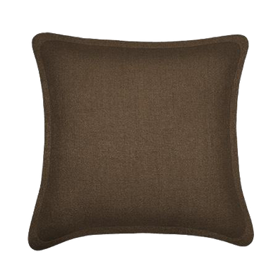 Hazel Wood Tweed Throw Pillow