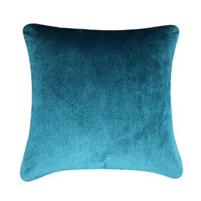 Quartz Mint Bohemian Velvet Throw Pillow
