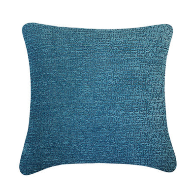 Oxford Cobalt French Rustic Throw Pillow