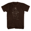 NUDES Drawing [BROWN] Tee + NUDES Mp3