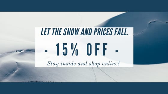 Weekend Sale - 15% Off!