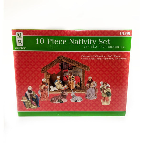 10 piece nativity set - Home Décor