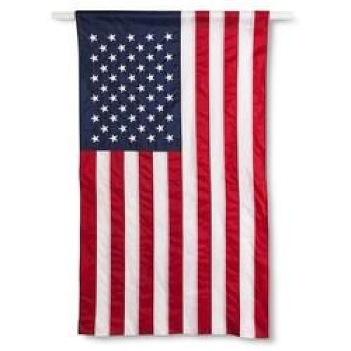 Annin Embroidered American Flag Banner - 2.5' x 4' - Keuka Outlet
