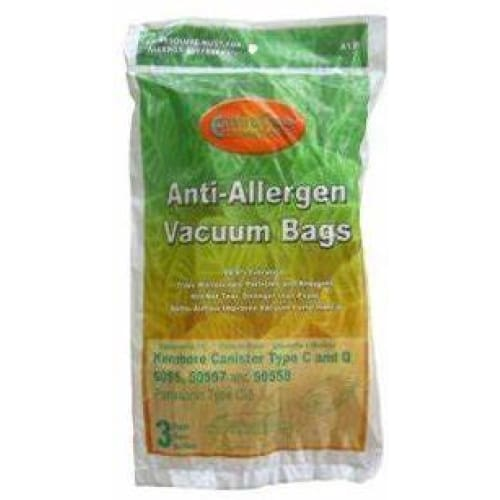 Anti-Allergen Vacuum Bags, pack of 3 - Keuka Outlet