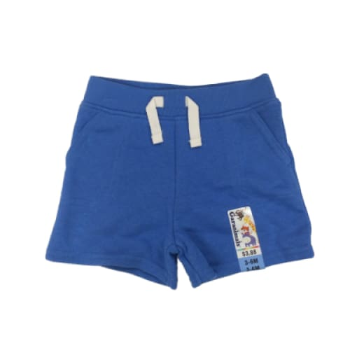Baby French Terry Short - 3-6M / Royal Blue - Clothing