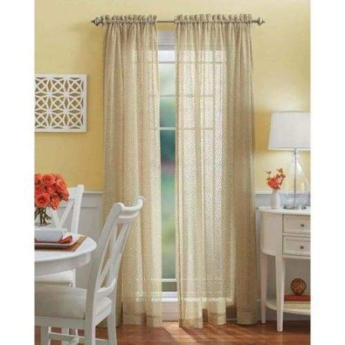 Better Homes and Gardens Mum Lace Tailored Curtain Panel - Curtains