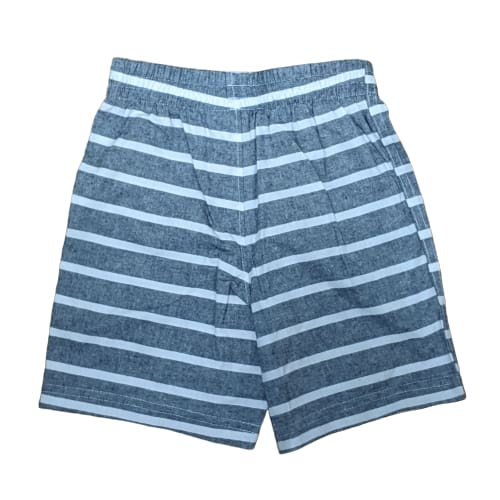Boy's striped shorts - 2T / Blue/White - Clothing