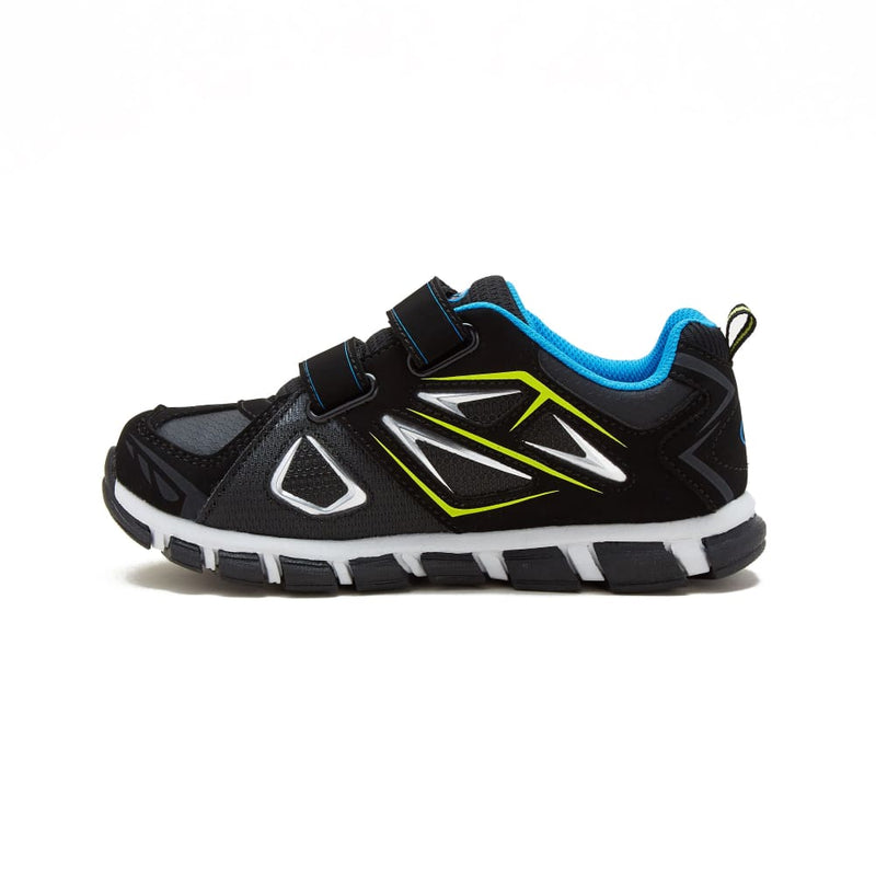 Boy's Two-Strap Athletic Shoe - 6 / Black Royal - Clothing
