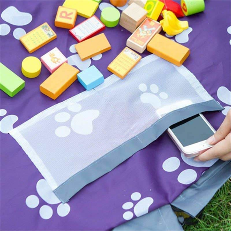 Children's Toy Storage Bag - Toys