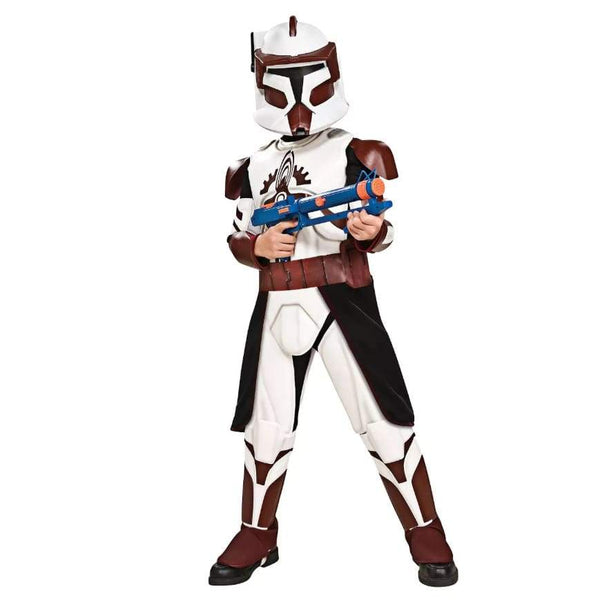 Clone Wars Deluxe Commander Fox Child Halloween Costume - Seasonal