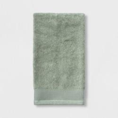 Cotton Hand Towel Laurel Green - Bath