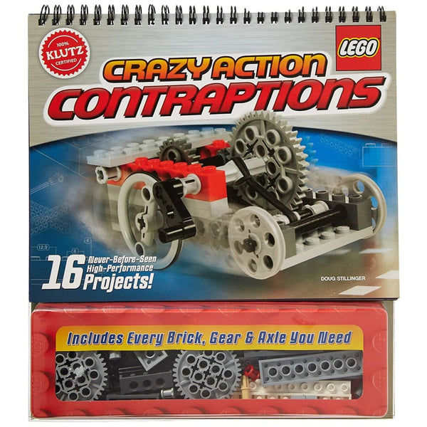 Crazy Action Contraptions Craft Kit - Toys