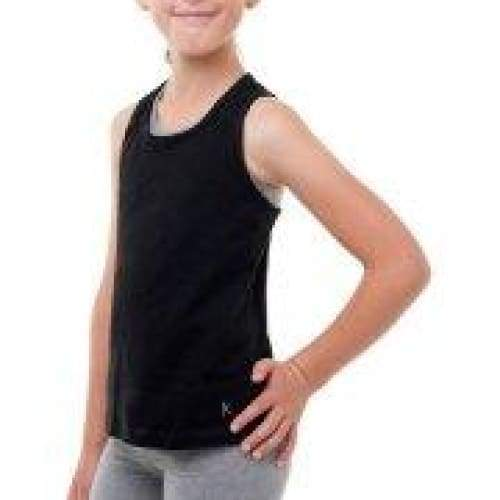 Danskin Now Girls' Dri-More Racerback Tank With Keyhole - Keuka Outlet