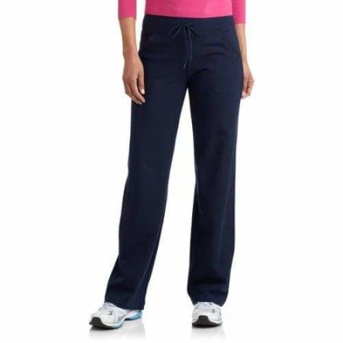 Danskin Now Women's Dri-More Core Athleisure Relaxed Fit Yoga Pants