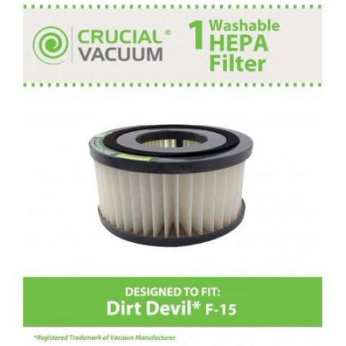 Dirt Devil F15 Washable HEPA Filter - Home Improvement