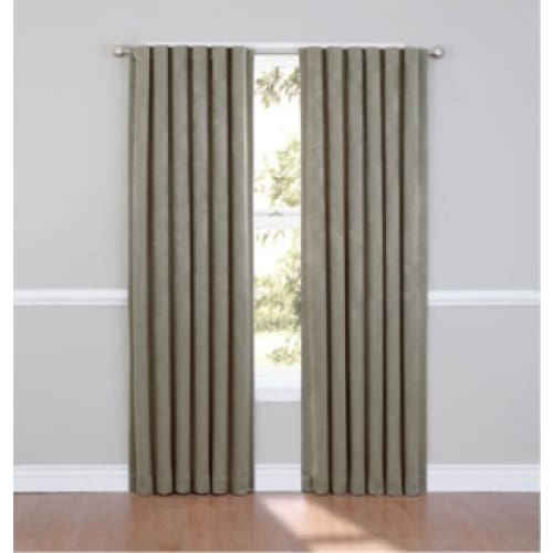 Eclipse Aurora Blackout Energy Efficient Window Panel - 52 x 84 / Smoke - Curtains