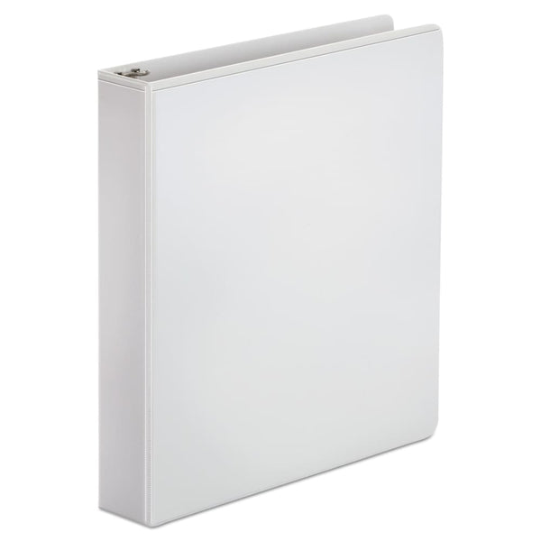 "Economy Round Ring View Binder, 1-1/2"" Capacity, White - Keuka Outlet"
