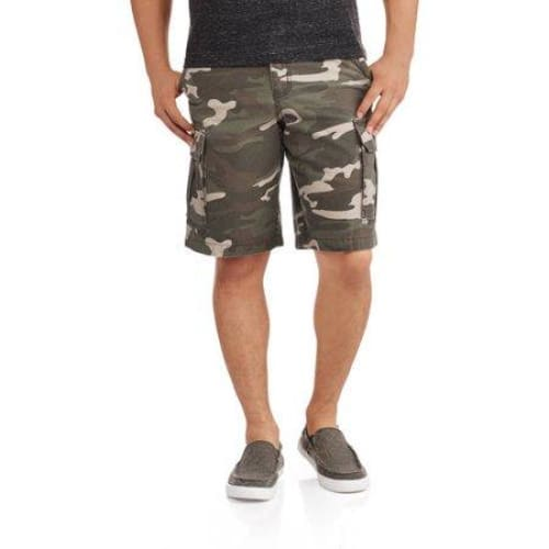Faded Glory Big Men's Cargo Short - Keuka Outlet