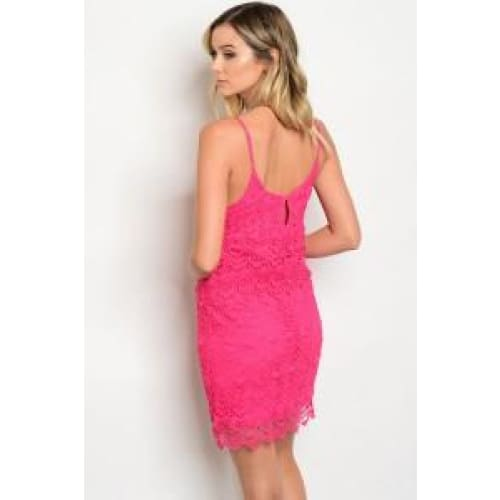 FUCHSIA DRESS - Keuka Outlet