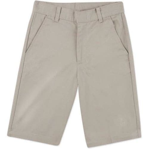 George Boys School Uniforms Flat Front Shorts - Keuka Outlet
